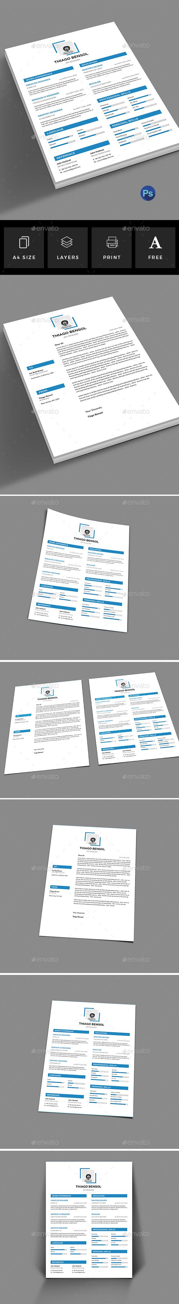 GraphicRiver Resume 20967773