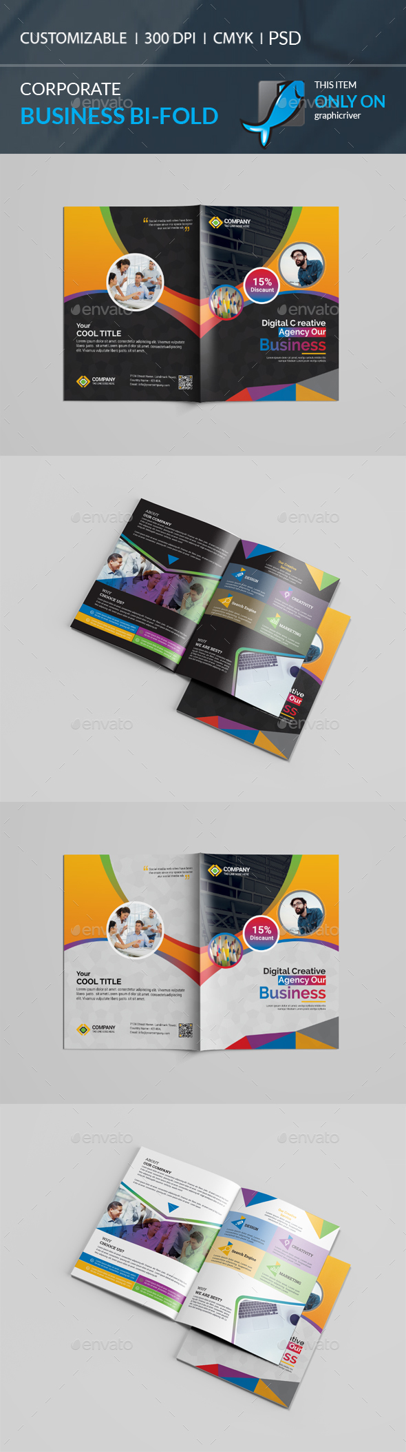 GraphicRiver Bi-Fold Brochure 20967783