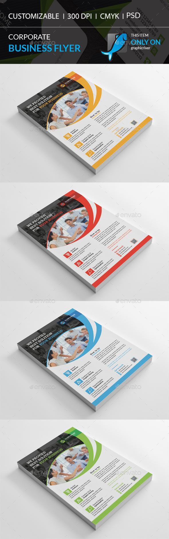 GraphicRiver Corporate Flyer 20967864