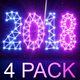 New Year 2018 (4 Pack) - VideoHive Item for Sale