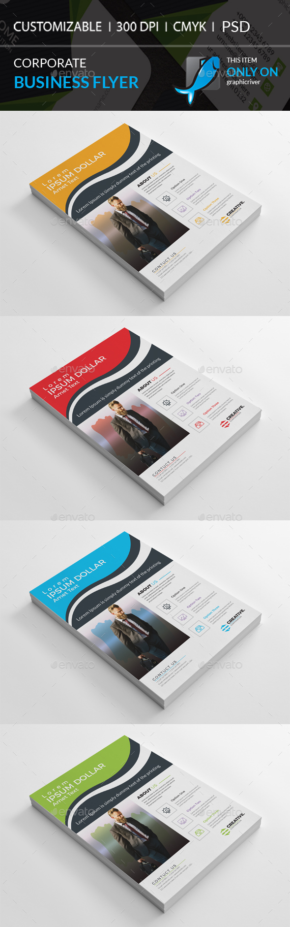 GraphicRiver Corporate Flyer 20967994