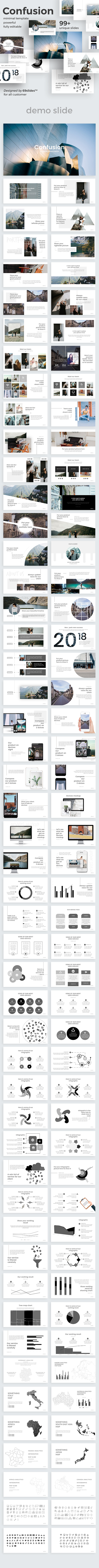GraphicRiver Confusion Creative Powerpoint Template 20968078