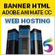 Web Hosting Banners HTML5 (Animate CC) - CodeCanyon Item for Sale