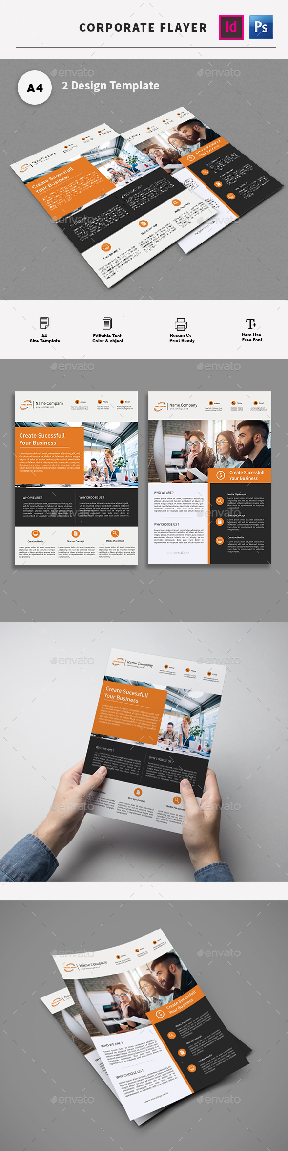 GraphicRiver Flyer 20968449