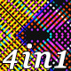 Pixel Neon Led - VJ Loop Pack (4in1) - VideoHive Item for Sale