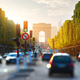 Traffic on Champs Elysee - PhotoDune Item for Sale