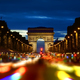Champs Elysee in evening - PhotoDune Item for Sale