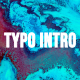 Typo Intro - VideoHive Item for Sale
