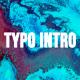 Typo Intro - VideoHive Item for Sale