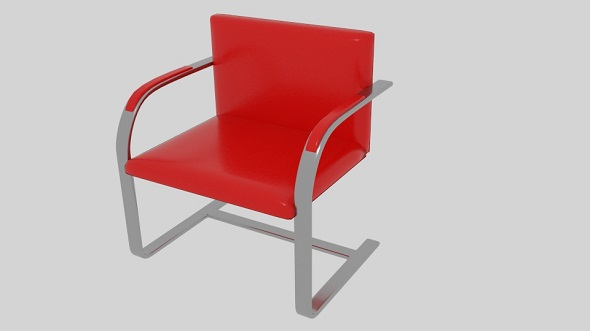 Brno Chair - 3DOcean Item for Sale