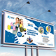 Cleaning Service Billboard Template - GraphicRiver Item for Sale