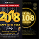 New Year Party Flyers Bundle