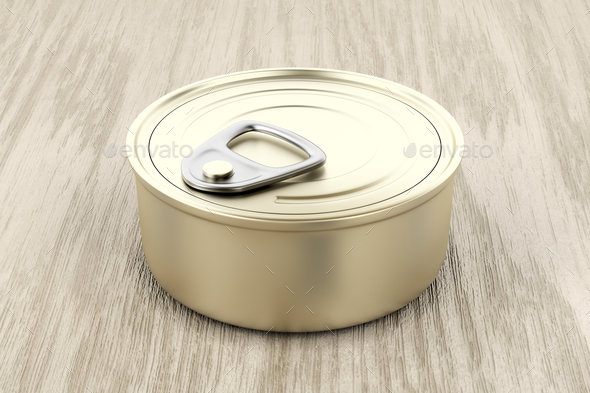 Pate can - Stock Photo - Images