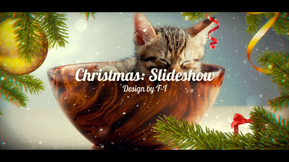 VideoHive Christmas Slideshow 20969904
