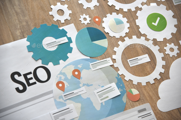 Web Optimization Concept Design - Stock Photo - Images