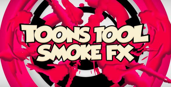 VideoHive Toons Tool Smoke FX 20970221