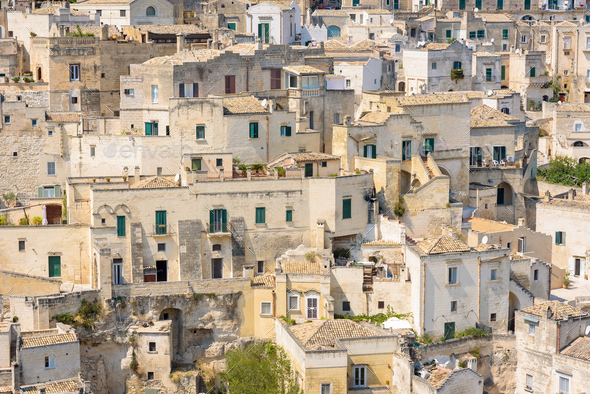 The Sassi of Matera - Stock Photo - Images