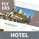 Hotel Flyers 7 – 4 Options