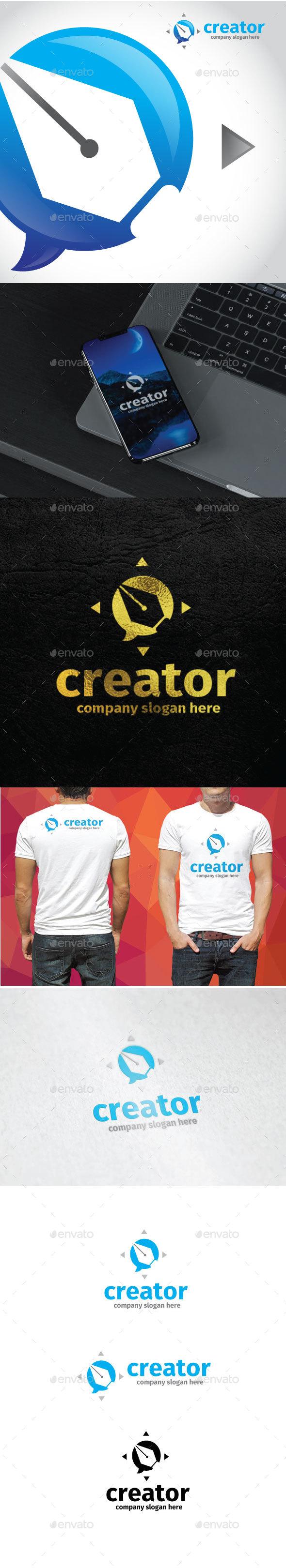 Creator Logo - Objects Logo Templates