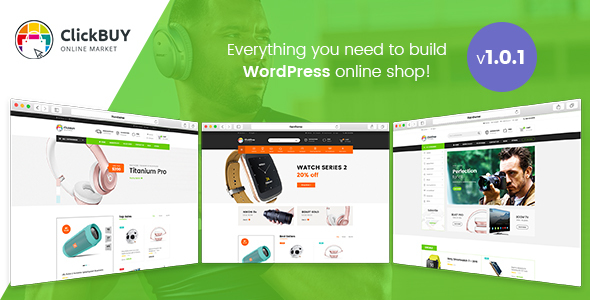 ClickBuy - Multi Store Responsive WordPress Theme - WooCommerce eCommerce