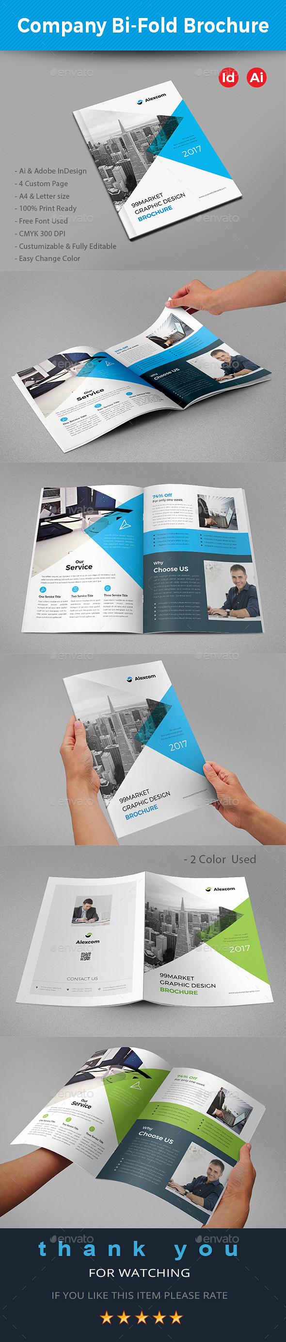 GraphicRiver Company Bi-Fold Brochure 20947752