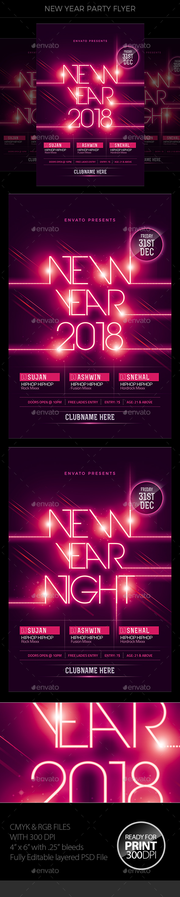 GraphicRiver New Year 20970867