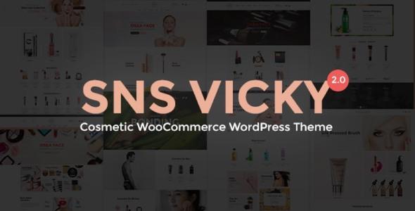 SNS Vicky - Cosmetic WooCommerce WordPress Theme - WooCommerce eCommerce