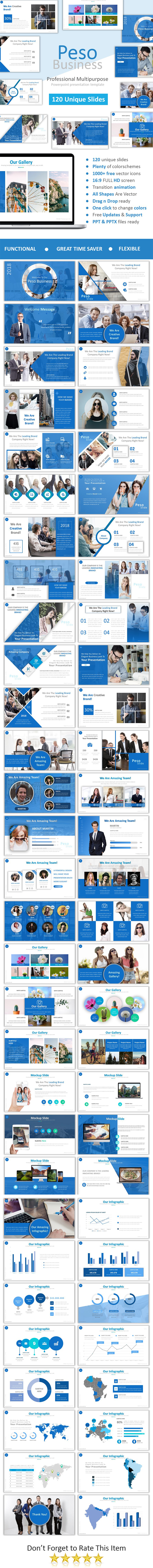 GraphicRiver Peso Powerpoint 20970903