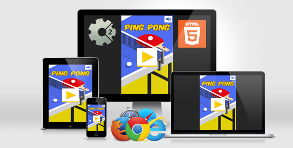 Download Ping Pong - HTML5 Casual Game