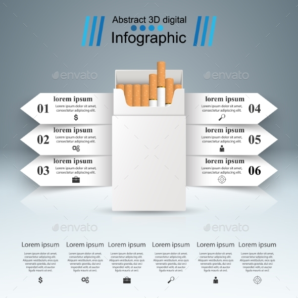GraphicRiver Harmful Cigarettes 20971015