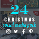 Christmas Social Media Pack - GraphicRiver Item for Sale