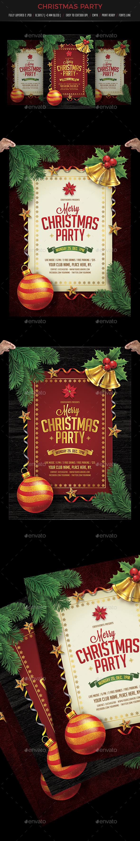 GraphicRiver Christmas Party 20971416