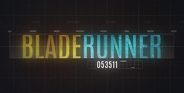 VideoHive Blade Runner 20971584