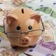 Piggy Bank on Euros - PhotoDune Item for Sale