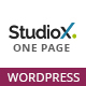 StudioX - One Page WordPress
