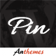 Pin = Pinterest Style / Personal Masonry Blog / Front-end Submission - ThemeForest Item for Sale