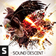 Sound Descent CD Album Artwork - GraphicRiver Item for Sale