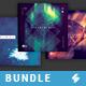 Progressive Minimal Sound - CD Cover Artwork Templates Bundle