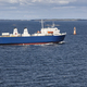 Cargo ship on the baltic sea. Aland islands. Finland. Horizontal - PhotoDune Item for Sale