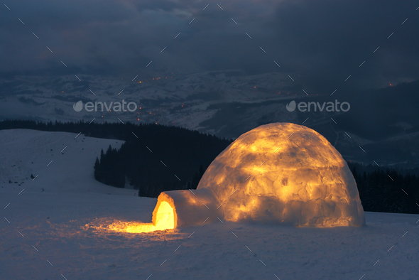 igloo - Stock Photo - Images
