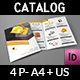 Safety Tools Catalog Bi-Fold Brochure Template