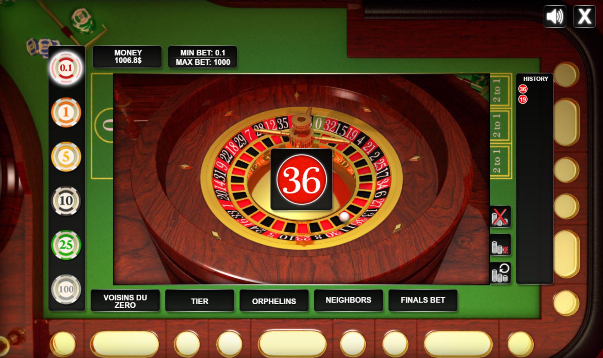 Html5 roulette script hi lo gambling
