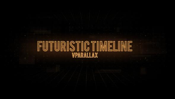VideoHive Futuristic Timeline Video Presentation 20972763