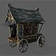 Fancy Medieval Caravan