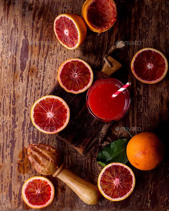 Sicilian half blood oranges - Stock Photo - Images