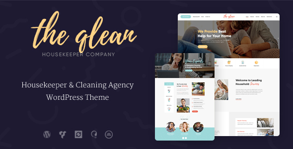 ThemeForest The Qlean Cleaning Company WP Theme 20860544