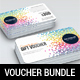 3 Gift Voucher Card Bundle 2 - GraphicRiver Item for Sale