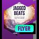 Club Flyer: Jagged Beats