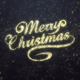 Gold Merry Christmas Greeting - VideoHive Item for Sale