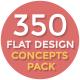 Flat Design Concepts Pack - VideoHive Item for Sale